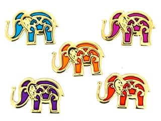 novelties: Jesse James Embellishments - Bollywood Elephants