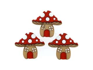 Jesse James Embellishments - Mushroom Houses