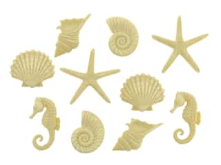 craft & hobbies: Jesse James Embellishments Beach Beauties