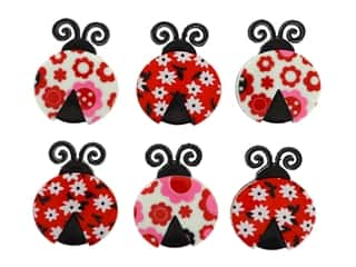 novelties: Jesse James Embellishments - Ladybug Love