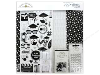 scrapbooking & paper crafts: Doodlebug Collection Hats Off Essentials Kit