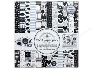 "Doodlebug Collection Hats Off Paper Pack 12""x 12"""