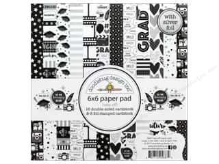 scrapbooking & paper crafts: Doodlebug 6 x 6 in. Paper Pad Hats Off