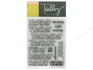 Hero Arts Poly Clear Stamp Kelly Days Of The Week