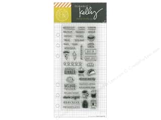 stamps: Hero Arts Poly Clear Stamp Kelly Planner Food