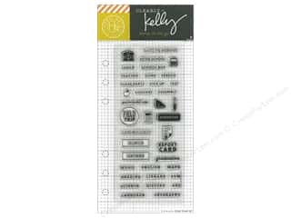 stamp cleared: Hero Arts Poly Clear Stamp Kelly Planner School