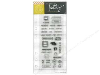 Hero Arts Poly Clear Stamp Kelly Planner TV