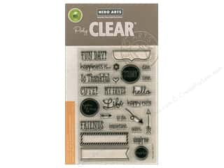 stamp cleared: Hero Arts Poly Clear Stamp Planner Fun Day
