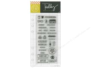 stamp cleared: Hero Arts Poly Clear Stamp Kelly Planner Occasion
