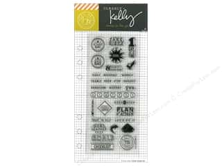 stamps: Hero Arts Poly Clear Stamp Kelly Planner Goal