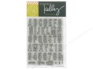 stamps: Hero Arts Poly Clear Stamp Kelly Everyday Alphabet