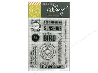 Hero Arts Poly Clear Stamp Kelly Good Morning
