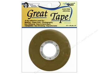 glues, adhesives & tapes: USArtQuest Great Tape 36yd