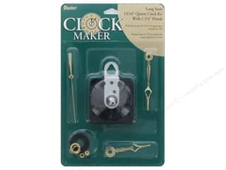 Darice Clock Kit Quartz Long Stem 13/16""