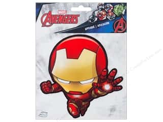 Simplicity Iron On Applique Large Iron Man Character