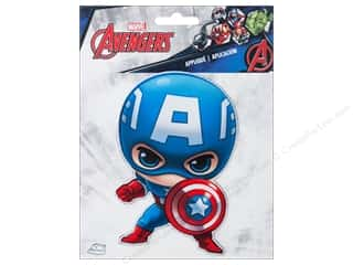 Simplicity Applique Iron On Large Captain America Character