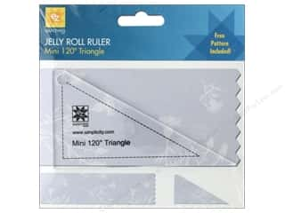 EZ Acrylic Ruler Mini Triangle 120 Degree