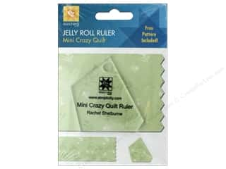 EZ Acrylic Ruler Mini Crazy Quilt