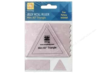 EZ Acrylic Ruler Mini Triangle 60 Degree