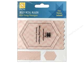 EZ Acrylic Ruler Mini Long Hexagon