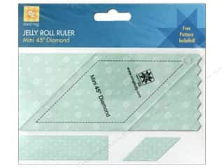 EZ Acrylic Ruler Mini Diamond 45 Degree
