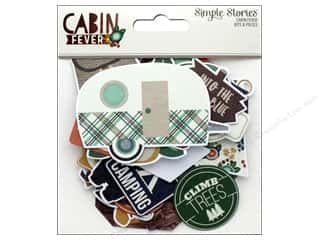 Simple Stories: Simple Stories Collection Cabin Fever Bits & Pieces