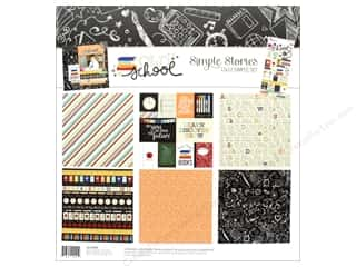 "Simple Stories: Simple Stories Collection Old School Kit 12""x 12"""