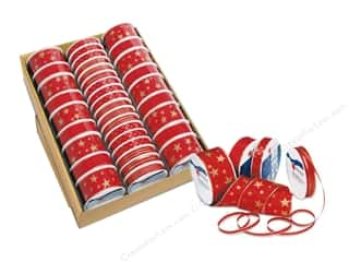 Clearance: Morex Ribbon Assortment Tray Basic Christmas (36 pieces)