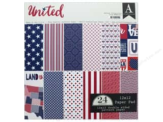 "Authentique Collection United Paper Pad 12""x 12"""