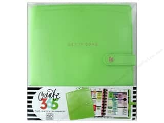 Me & My Big Ideas Create 365 Happy Planner Deluxe Cover - Classic Spring Green