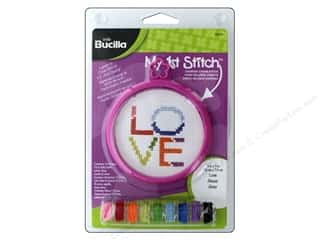 Bucilla Counted Cross Stitch Kit 3 in. Mini Love