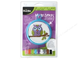 yarn & needlework: Bucilla Counted Cross Stitch Kit 3 in. Mini Owl Branch