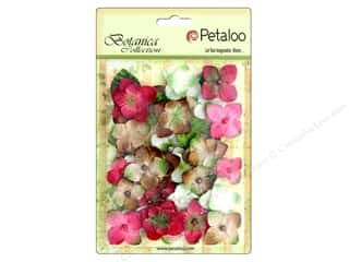 Petaloo Botanica Collection Chantilly Hydrangeas Red