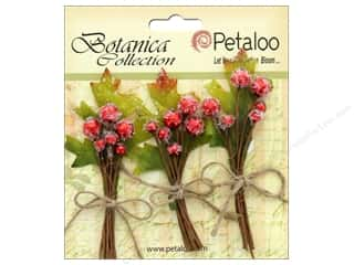 Petaloo Botanica Collection Sugared Berries Red
