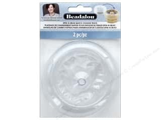 Beadalon Spin-N-Bead Quick Change Trays 2 pc.