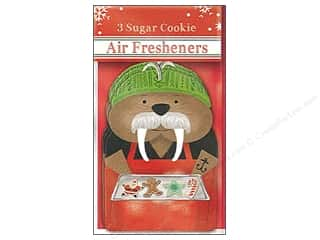 Clearance: Molly & Rex Air Freshener Holiday Walrus 3pc
