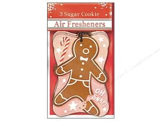 Molly & Rex Air Freshener Holiday Gingerbread Man 3pc