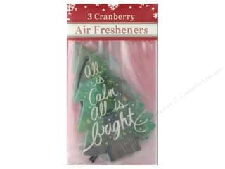 Clearance: Molly & Rex Air Freshener Holiday Bright Tree 3pc