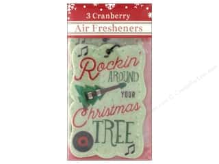 Clearance: Molly & Rex Air Freshener Holiday Tree/Guitar 3pc