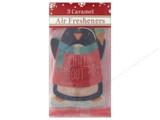 gifts & giftwrap: Molly & Rex Air Freshener Holiday Chill Out Penguin 3pc