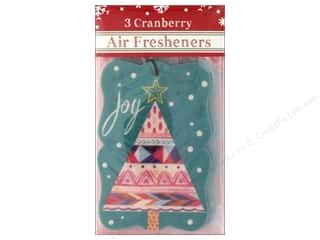 Clearance: Molly & Rex Air Freshener Holiday Bohemian Tree 3pc