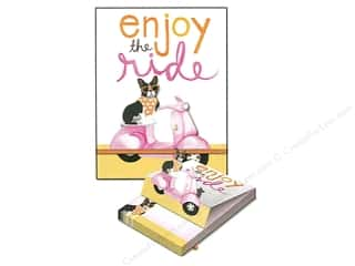 gifts & giftwrap: Molly & Rex Note Pop Up Pocket Pad Vespa Frenchie