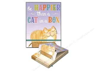 Gifts & Giftwrap: Molly & Rex Note Pop Up Pocket Pad Cat In A Box