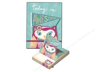 Gifts & Giftwrap: Molly & Rex Note Pop Up Pocket Pad Awesome Owl