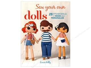 books & patterns: Sew Your Own Dolls Book