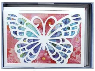 die cuts: Molly & Rex Card Note Box Die Cut Bloom Butterfly