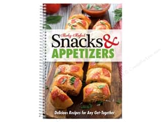 books & patterns: Party-Perfect Snacks & Appetizers Book
