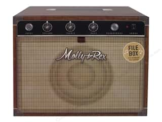 storage : Molly & Rex Organizer Yesteryear Storage Box File Amplifier