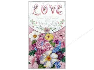 Punch Studio Note Pad Pocket Large Love Your Life