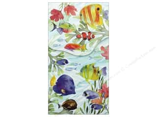 Gifts & Giftwrap: Punch Studio Note Pad Pocket Large Oceana